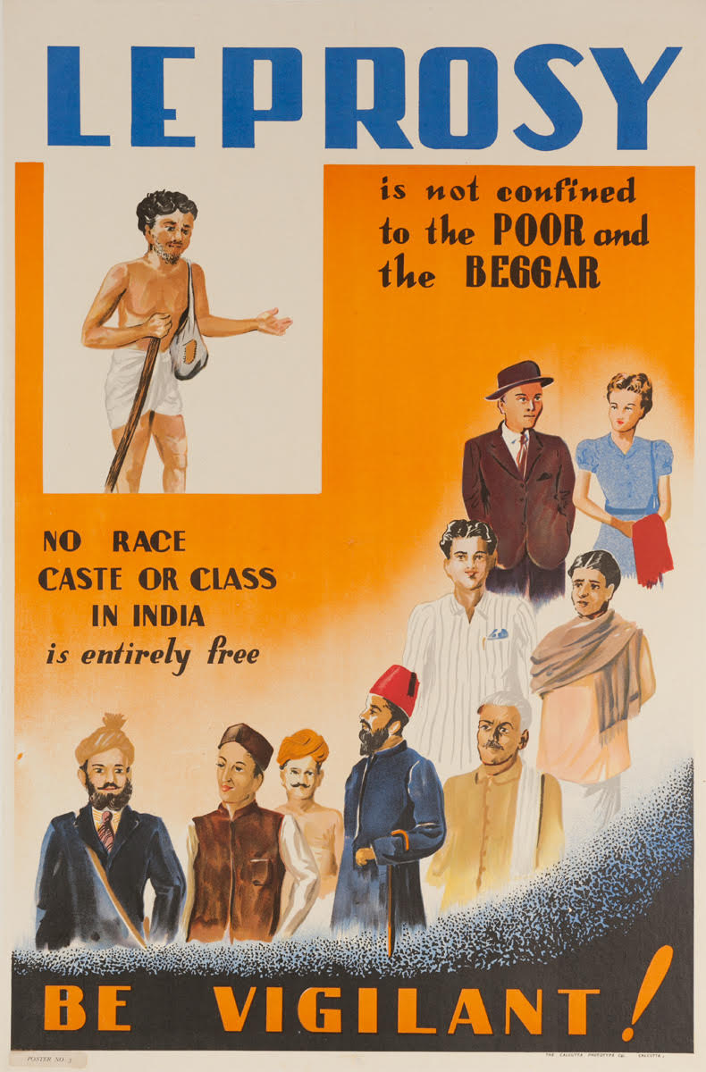 illustrative PSA poster of people of different races castes and class